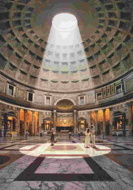 Il Fascino Del Pantheon Roma Rome Italie Visiter Rome Rome