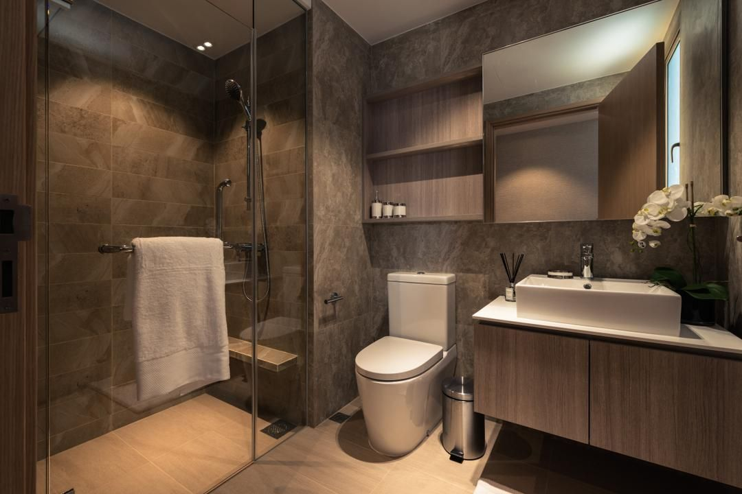 Check out this Contemporary-style Condo Bathroom and other ...