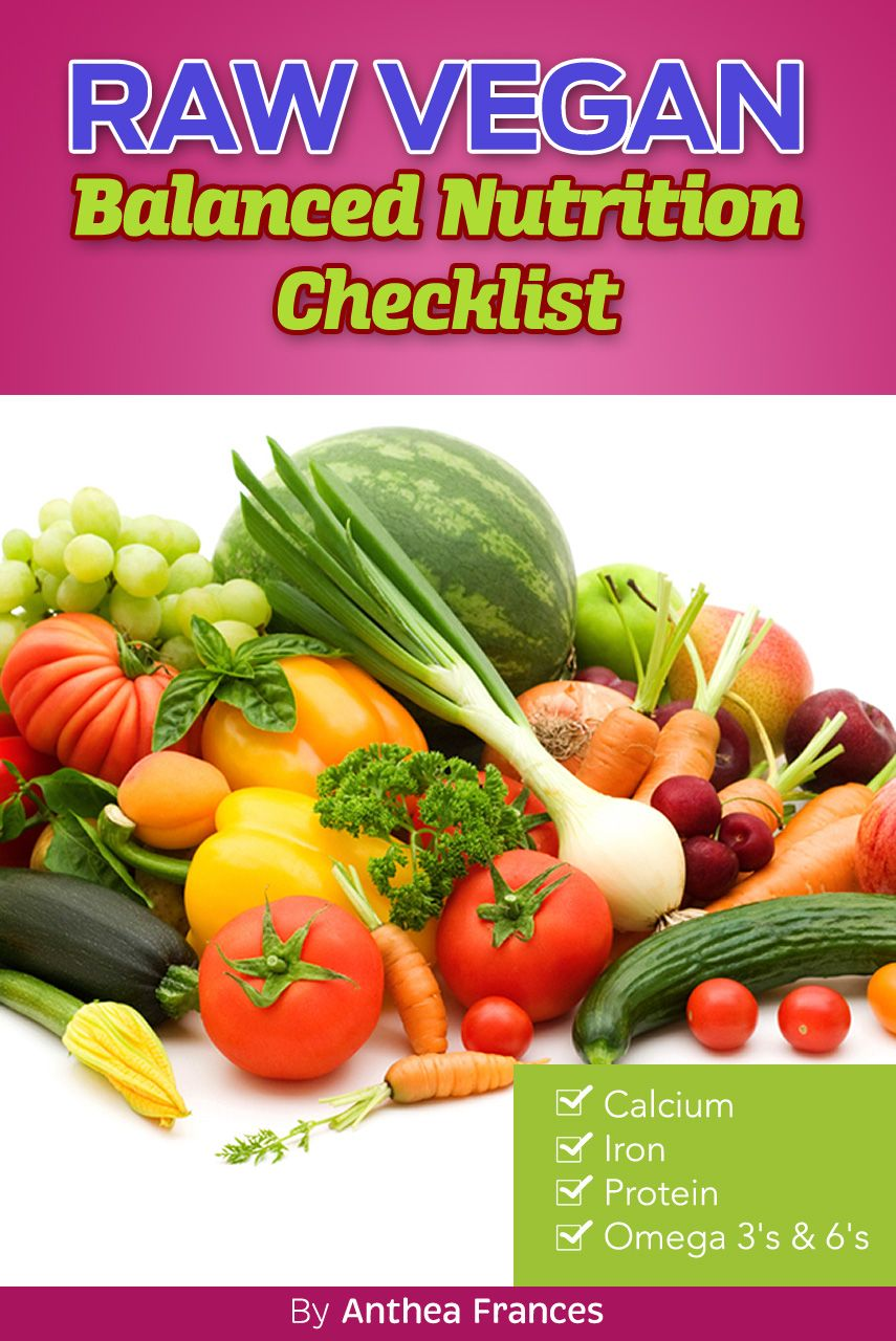Vibrant health and balanced nutrition checklist for the raw vegan vibrant health and balanced nutrition checklist for the raw vegan lifestyle alt real raw nutrition forumfinder Image collections