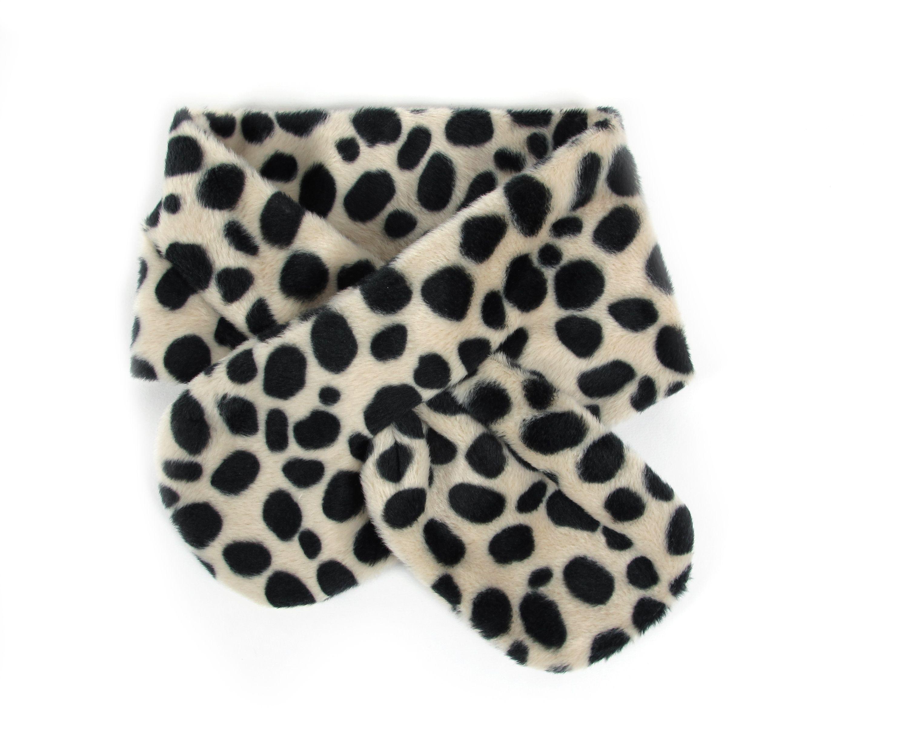 Nobodinoz Dallas Scarf In Snow Leopard | Scandinavian Minimall