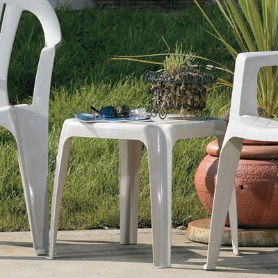 Patio Furniture | Patio Accessories | Stacking Side Table | Resin Patio Furniture - American Sale