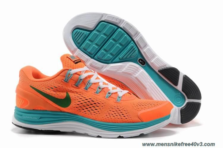 sneakers for cheap 23f6e e55a8 ... uk 524977 103 mens orange green nike lunarglide 4 online a46f6 eb197
