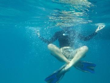 Yogo sessions under water! #GVIKenya