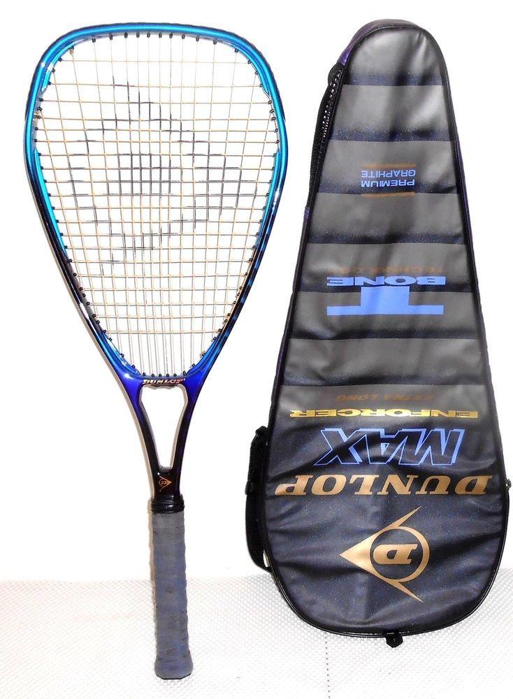 Dunlop Max Enforcer Extra Long Tennis Racquet Dunlop
