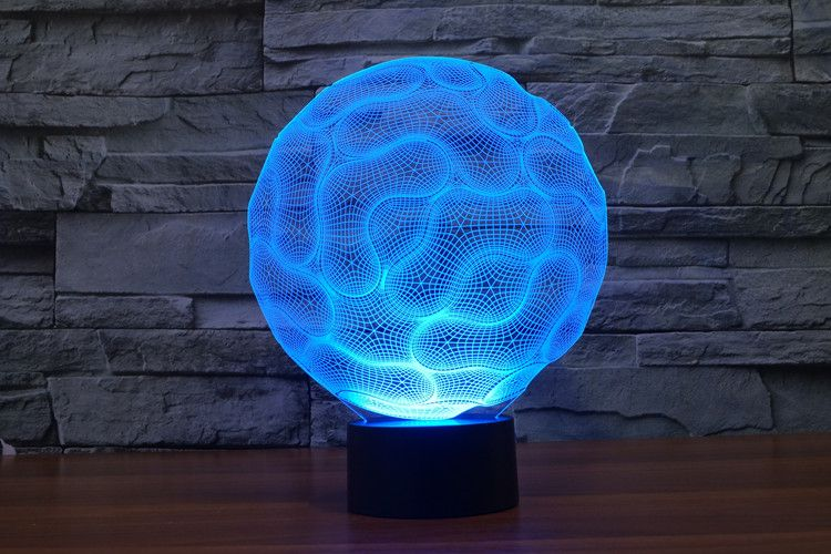 7 Colors 3d Illusion Space Lamp Abstract Energy Ball Of 2d Lamps On Sale Balloonsale Us 3d Illusion Lamp 3d Led Night Light 3d Illusions