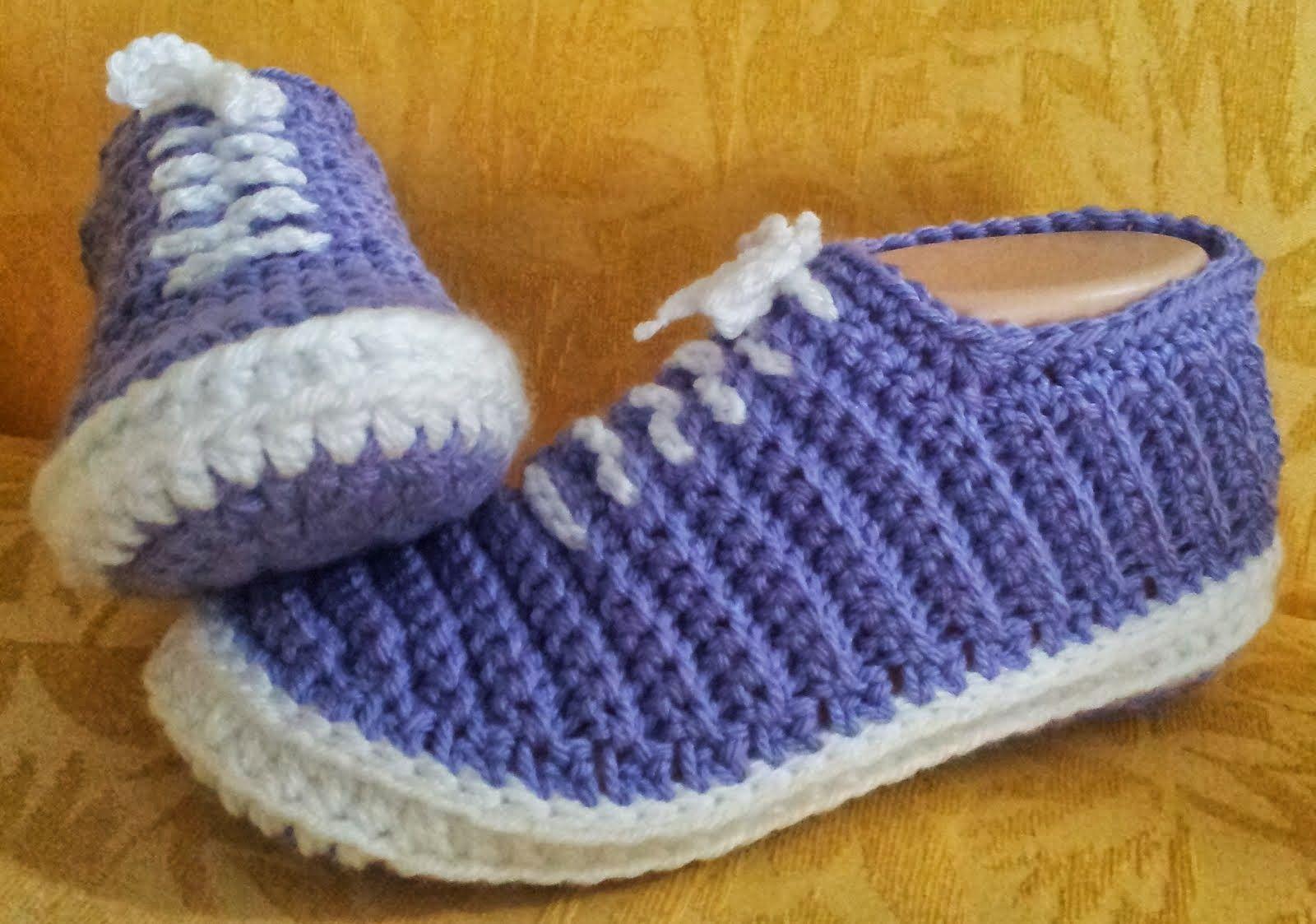 crochet patterns | babet | Pinterest | Zapatillas de deporte, De ...