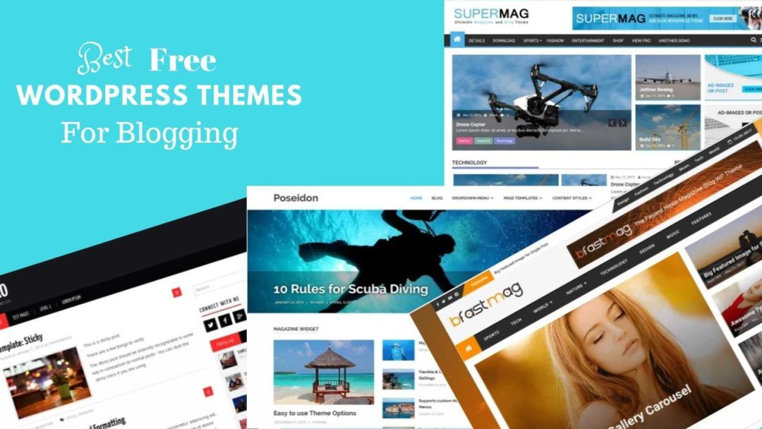 Best Wordpress Blog Themes 2019 Blog Themes Wordpress Blog Themes Best Free Wordpress Themes