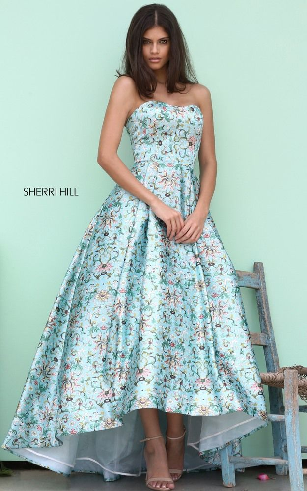 Style 50793 | gelinlik | Pinterest | High low, Ball gowns and Gowns