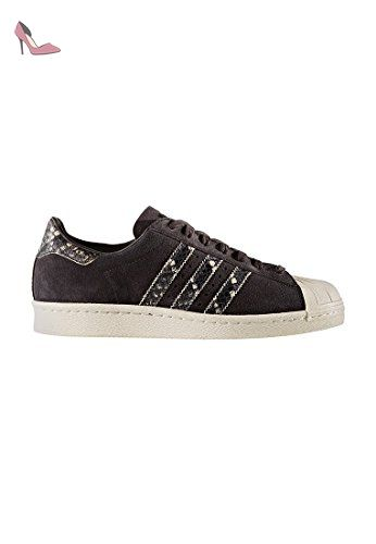 adidas Superstar 80s W chaussures 70 Blanc Blanc 70 Noir H4xFklb7hg 5087fe