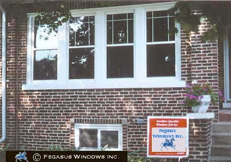 Double Hung Windows With Single Prairie Grids Window Trim Exterior Window Grids House Paint Exterior