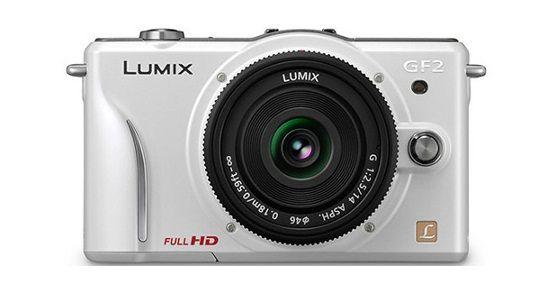 Panasonic Lumix Dmc Gf2 In White Panasonic Lumix Camera Panasonic