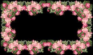 Free Digital Vintage Roses Frames And Border Png Rosenrahmen MeinLilaPark