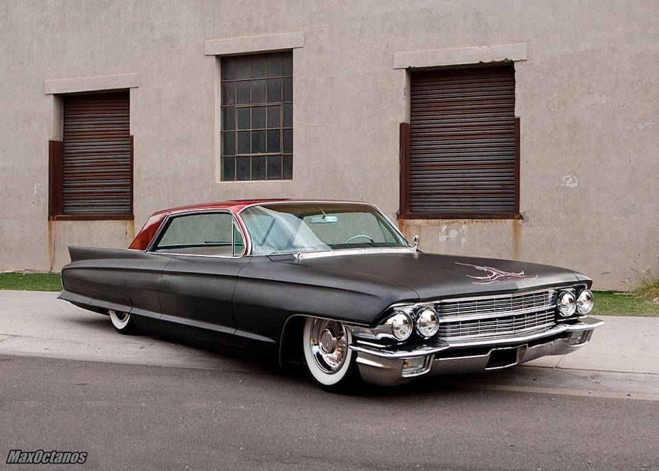 62 Cadillac Coupe DeVille | Lowriders & leadsleds | Pinterest ...