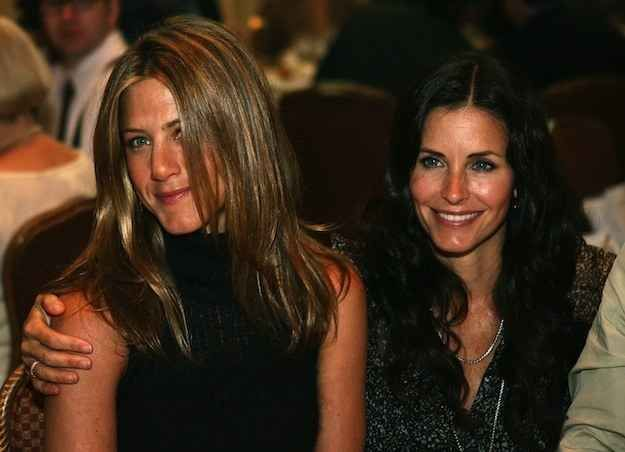 In 2005, Jen even became the godmother to Courteney's daughter, Coco.