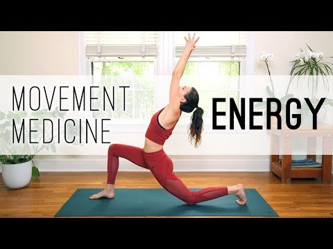 30 Movement Medicine Energy Practice Yoga With Adriene Youtube Yoga With Adriene Energy Yoga Energy Practices