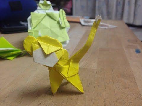 Origami Monkey Tutorial Carlson Choo Youtube Origami And Idea