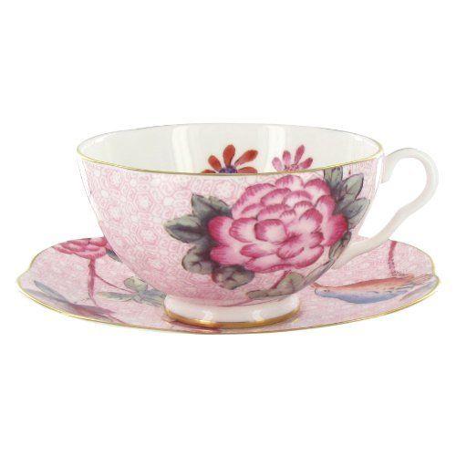 Royal Albert Friendship Teacup and Saucer Set Designed by Miranda Kerr