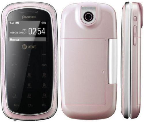 Pantech Impact P7000 Pink Att Cellular Phone New For Fun