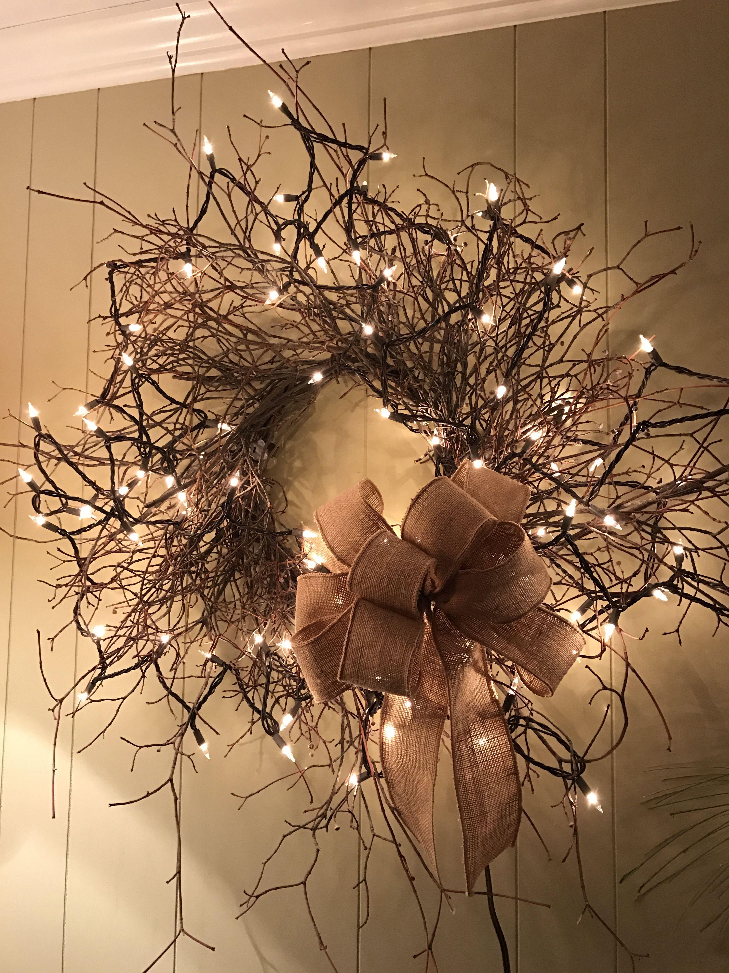 how to make a dogwood wreath