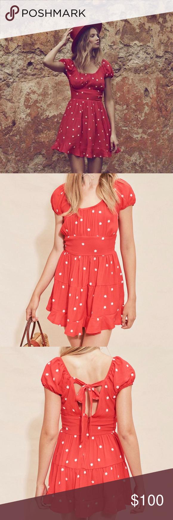 For Love And Lemons Chiquita Tiered Mini Dress Dresses Clothes Design New Dress [ 1740 x 580 Pixel ]