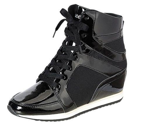 ced75613f7f Reneeze-KELLY-02-Womens-Hidden-Wedge-Fashion-Sneaker-BLACK