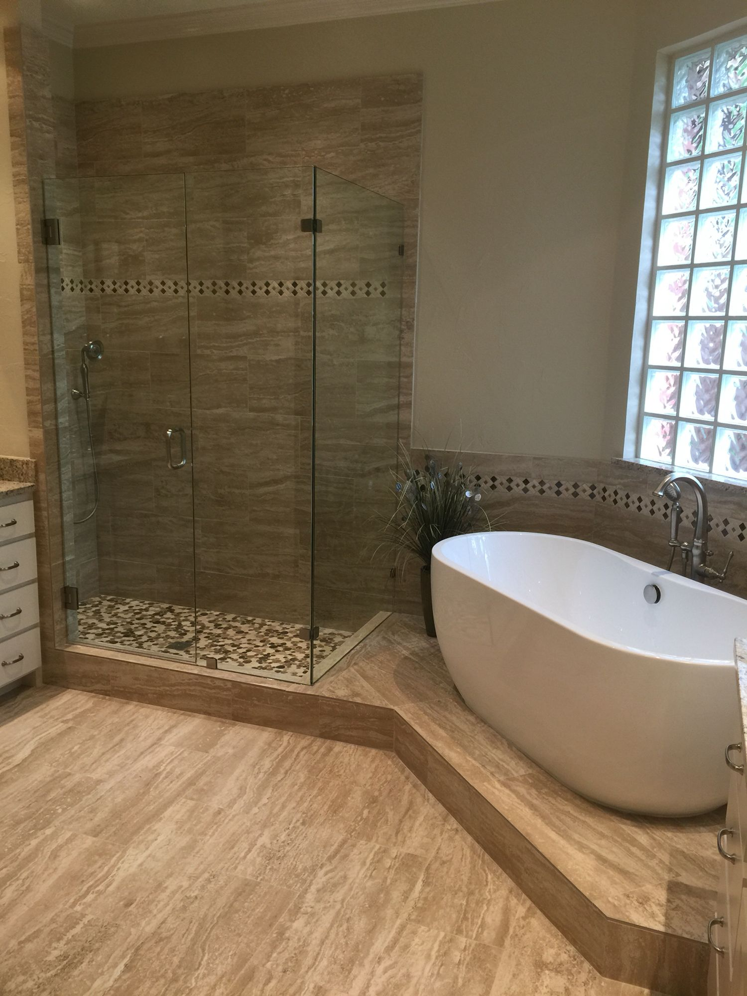 Bathroom remodeling project in Plano,TX | Home remodeling ...