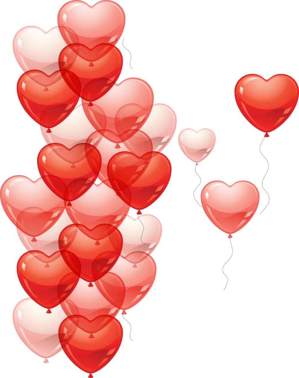 Balloon Png Images Free Picture Balloons Heart Balloons Love Valentines