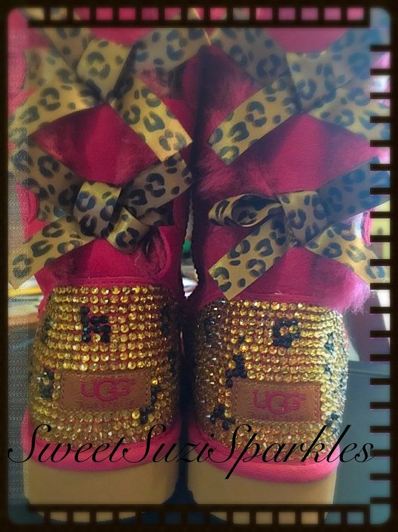 limited edition leopard print bailey bows, available in pink or ...