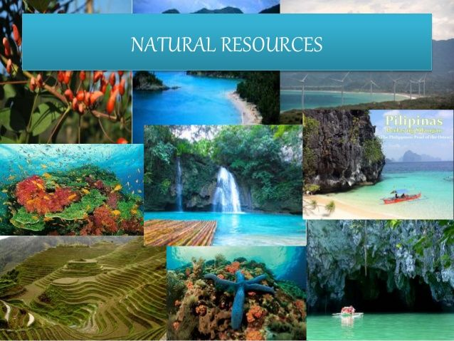 Natural And Manmade Sources Of Water