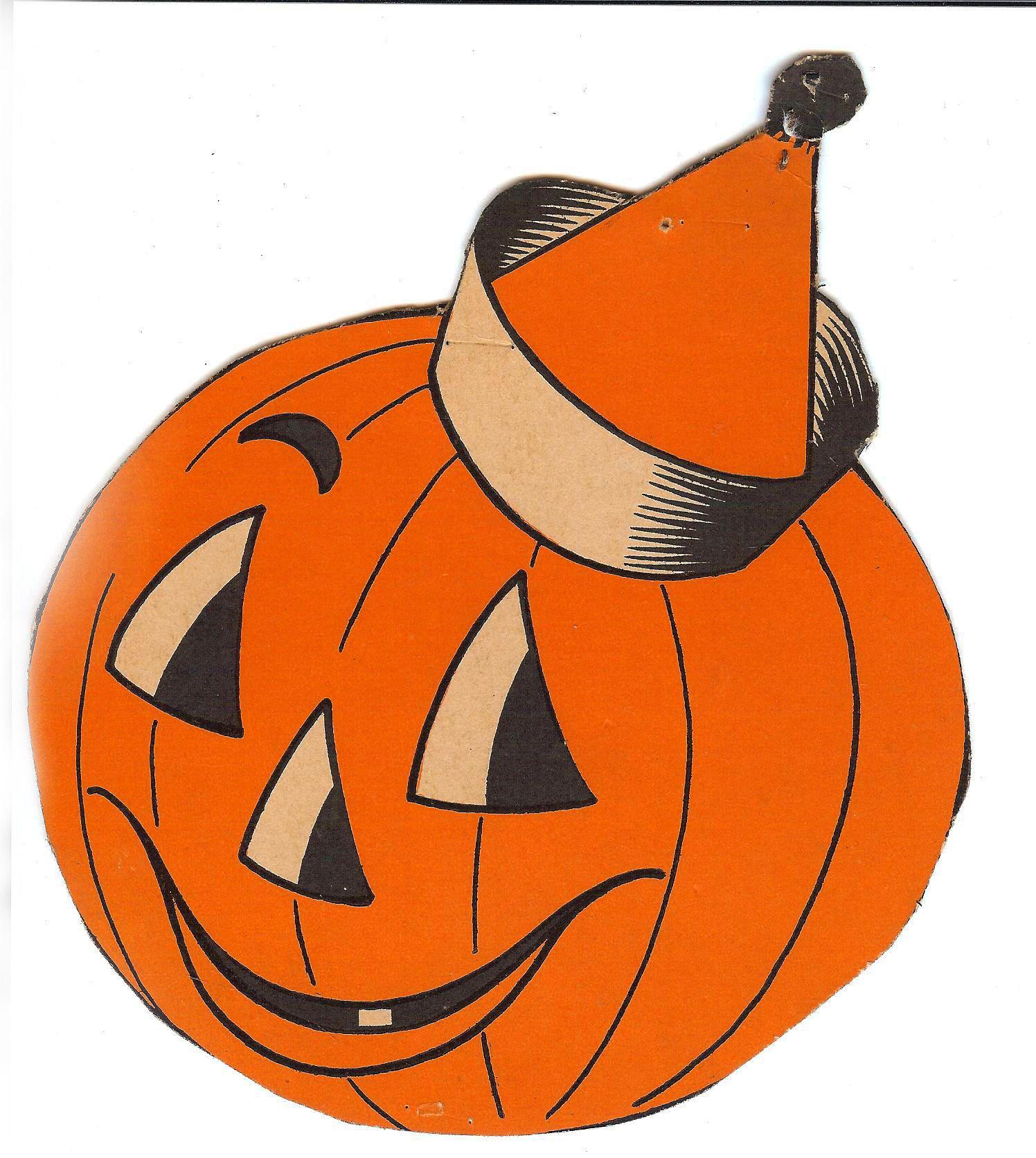 Retro Vintage Halloween Clip Art.Vintage Halloween Clip Art Clipart Halloween Clipart Halloween