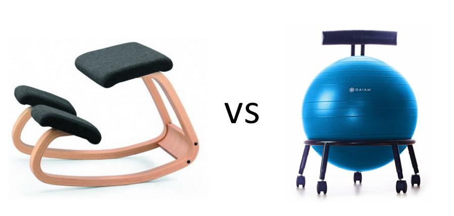 Kneeling Chair Vs Yoga Ball