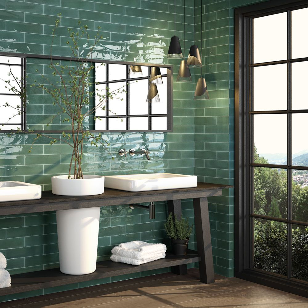 Opal Emerald Bathroom Colors Wall Tiles Bathroom Interior