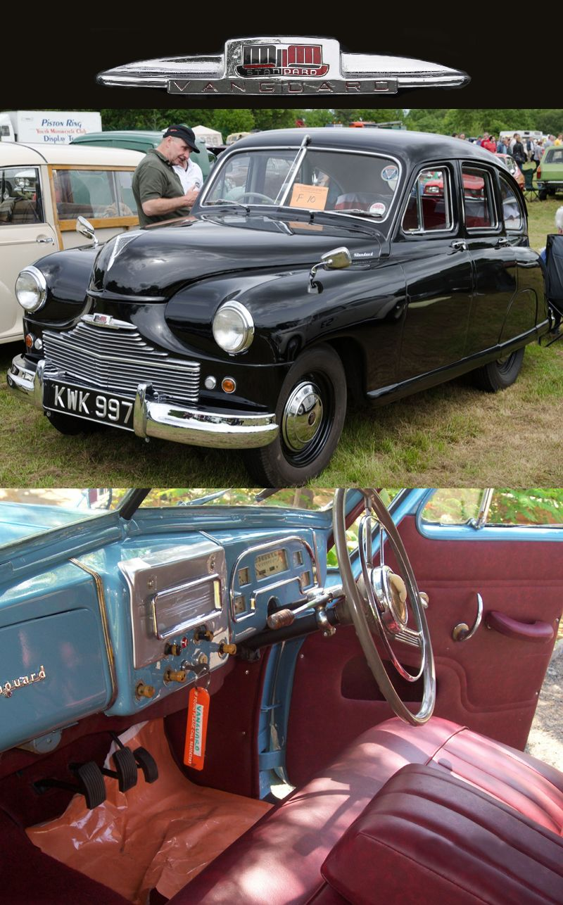 1950 Standard Vanguard | 1941 to 1950 CARZ | Pinterest | Cars ...