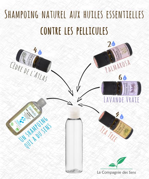 la meilleure attitude fréquent 100% de qualité supérieure Shampoing anti-pelliculaire aux huiles essentielles pour ...