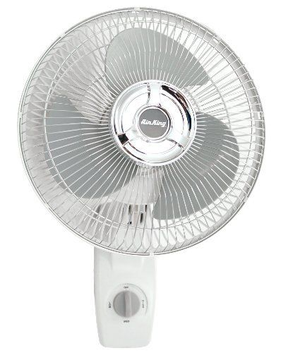 Air King 9012 Commercial Grade Oscillating Wall Mount Fan 12 Inch By Air King Http Www Amazon Com Dp B00 Wall Mounted Fan Wall Mounted Fans Wall Mount Fans