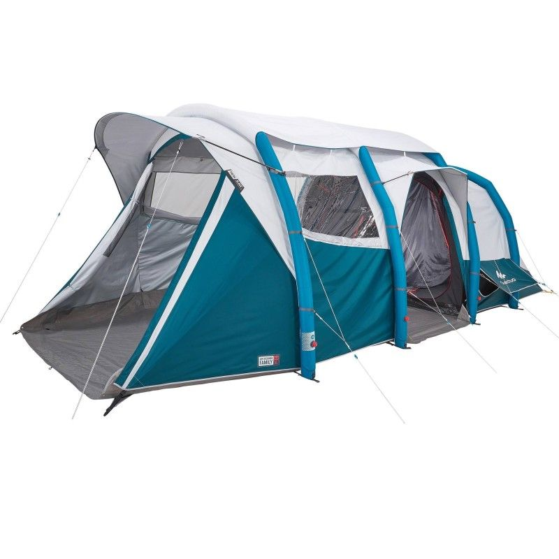Tente Gonflable De Camping Air Seconds 6 3 F B 6 Personnes 3 Chambres Tent Air Tent Tent Camping