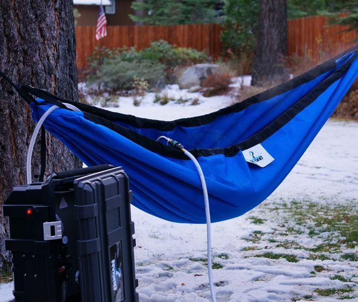 Hot Tub Hammock >> Hydro Hammock Portable Hot Tub Hammock Garden Backyard Hammock