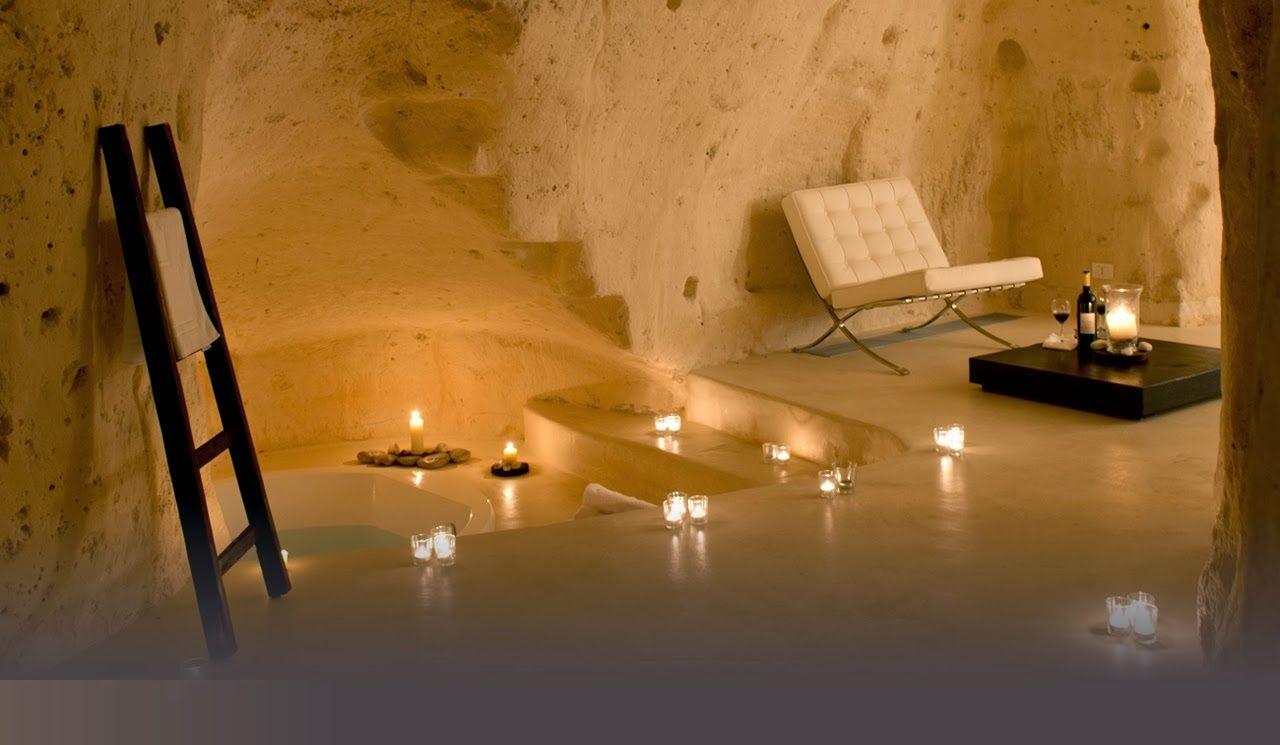 Cave Hotel Tantio Le Grotte Della Civita Matera Italy