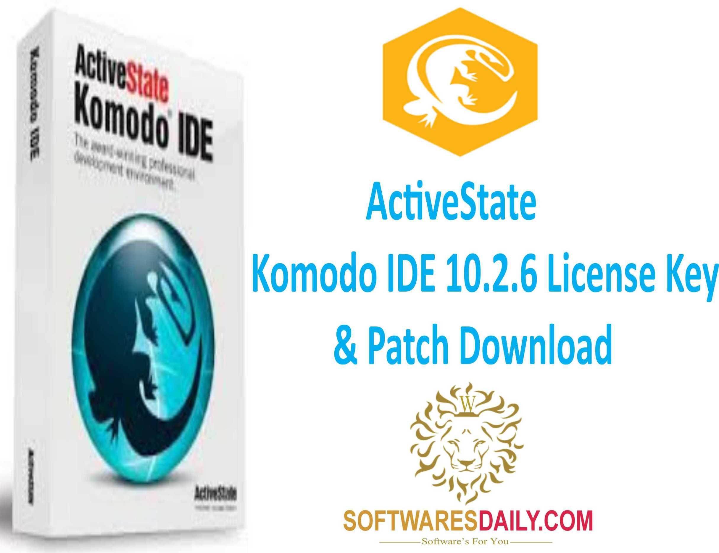 ActiveState Komodo IDE 10 2 6 License Key & Patch Download