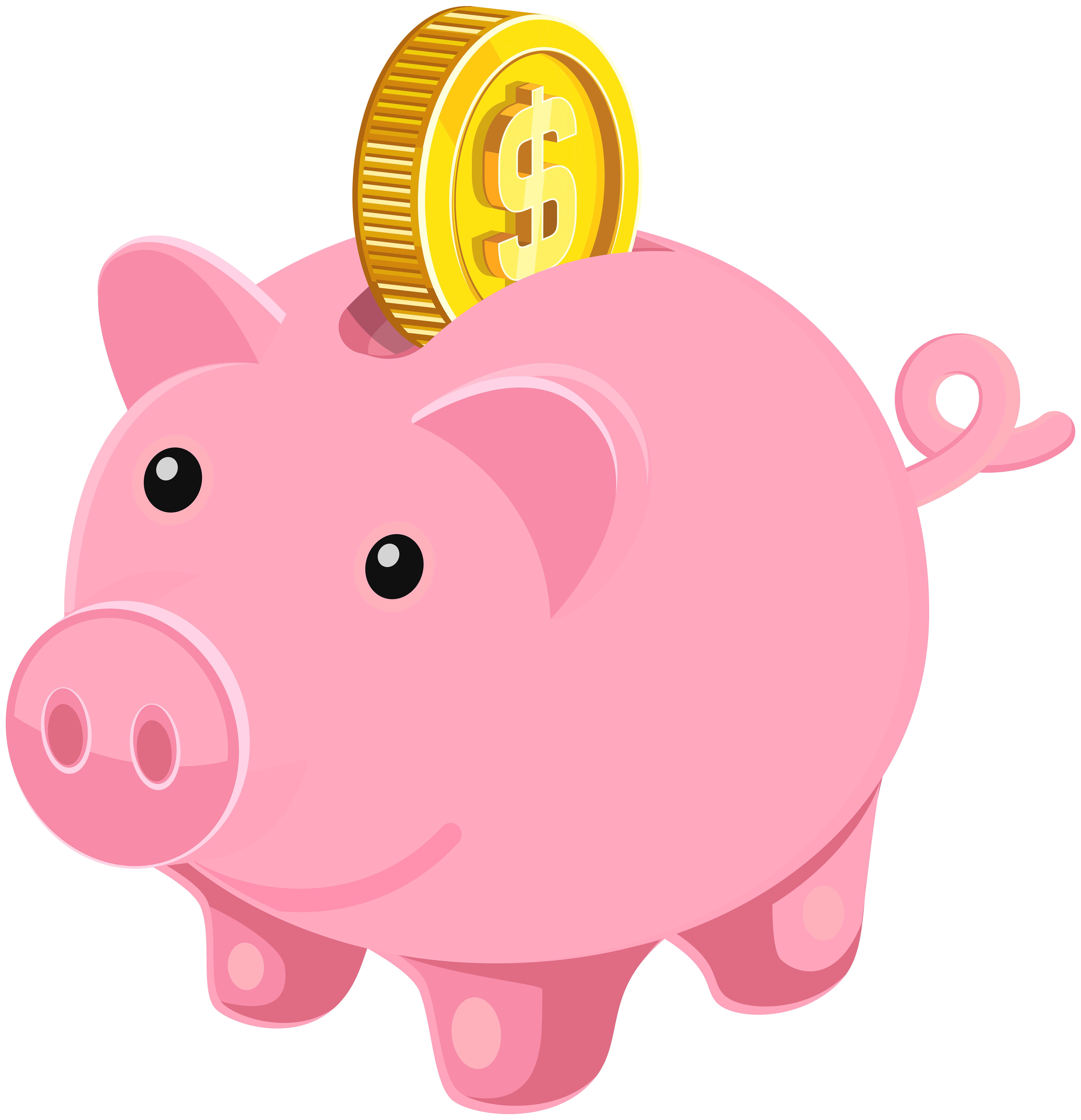 Piggy Bank Png Clip Art Image Gallery Yopriceville High Quality Images And Transparent Png Free Clipart In 2021 Piggy Bank Art Images Clip Art