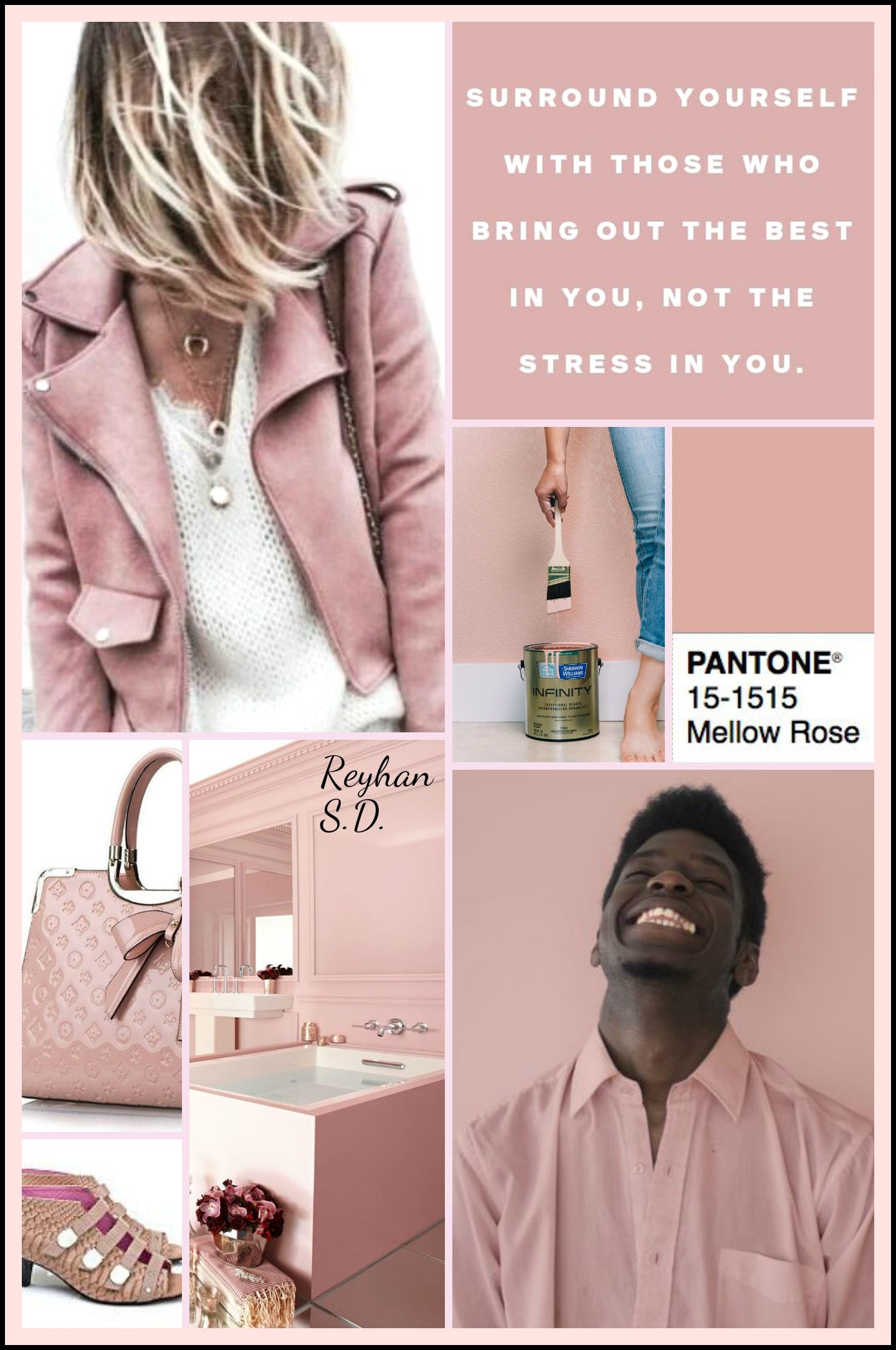 Mellow Rose: Pantone Fall/ Winter 2018-2019 Colors Trends \'\' by ...