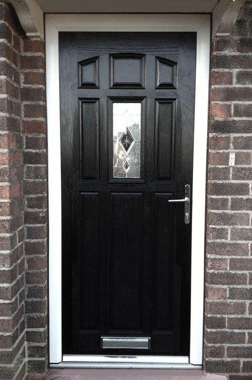 Black Front Door Ideas & Black Front Door Ideas | Black front doors Front doors and Doors