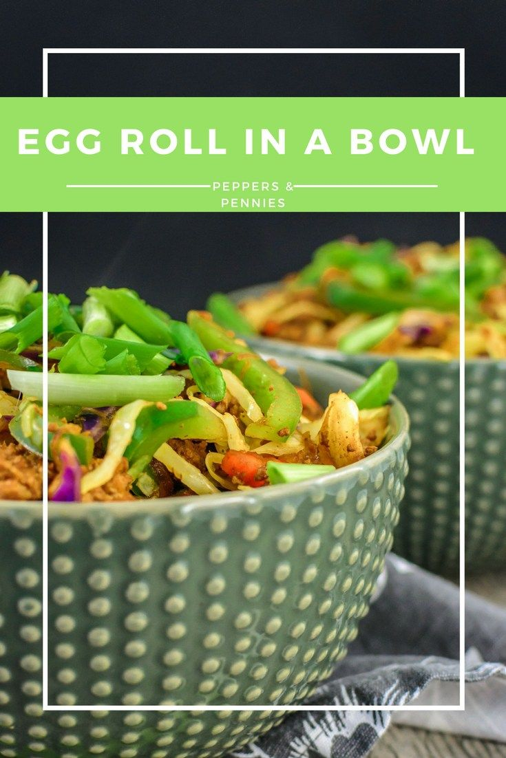 My Budget Egg Roll Rice Bowl is a light yet filling and flavourful dinner thanks to the use of jasmine rice and Shaoxing cooking wine.