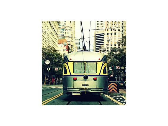 San Francisco Photography. Trolley. City. Urban by SSCphotography