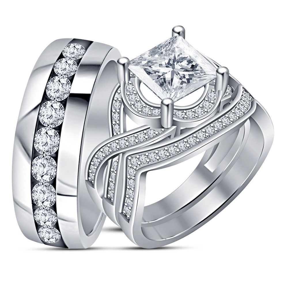 Ghim Tren Trio Ring Set