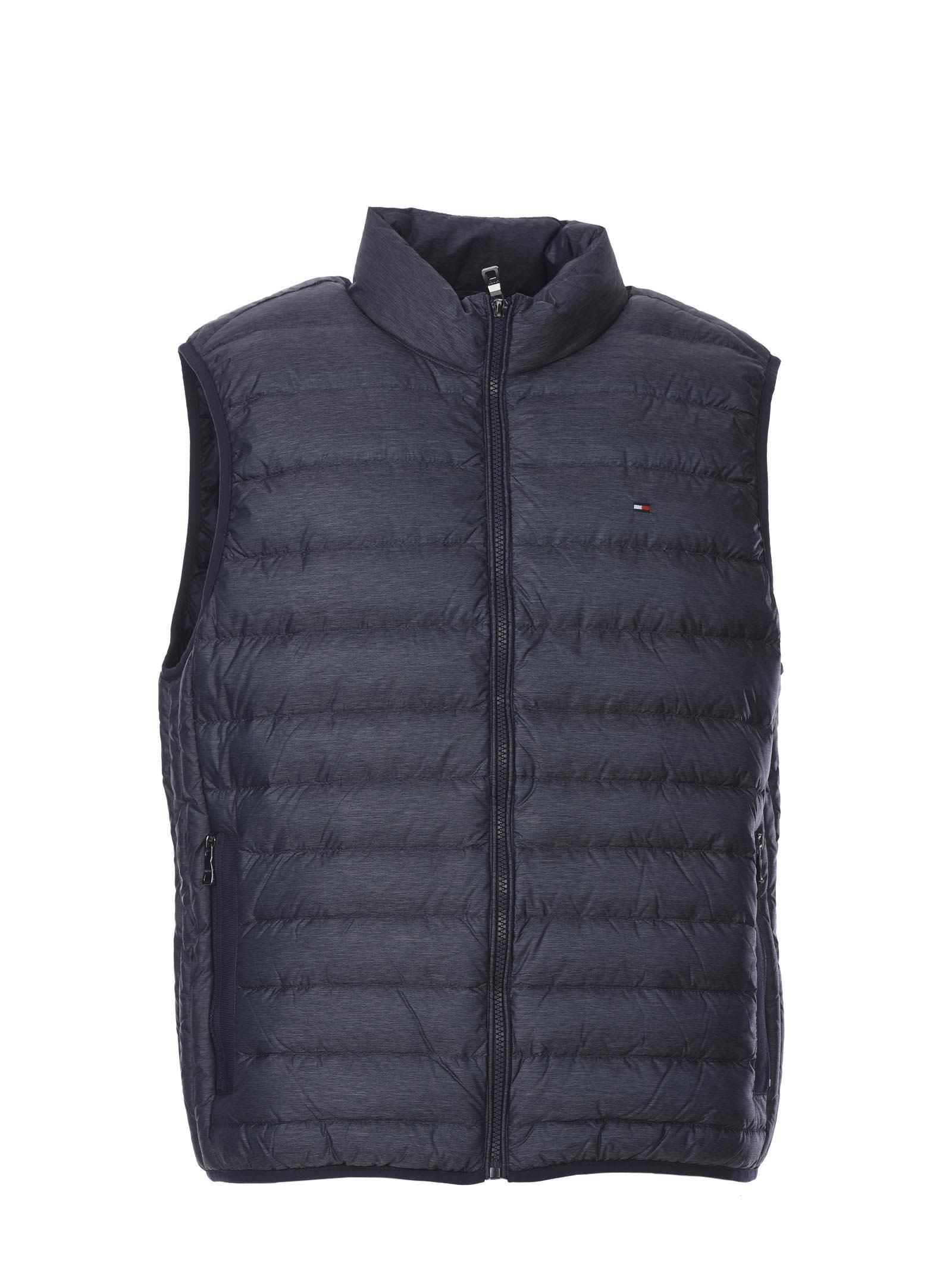 eed7fe96ff3 TOMMY HILFIGER LW HEATHER DOWN VEST BLUE AVIO.  tommyhilfiger  cloth ...