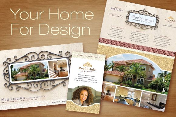 Real Estate Postcard Templates | Real Estate Marketing - Flyer ...