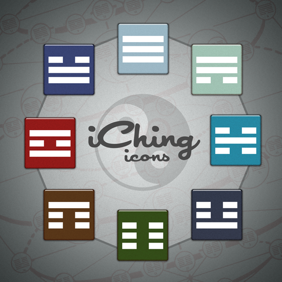 iChing Icons in color Icon, Company logo, My design
