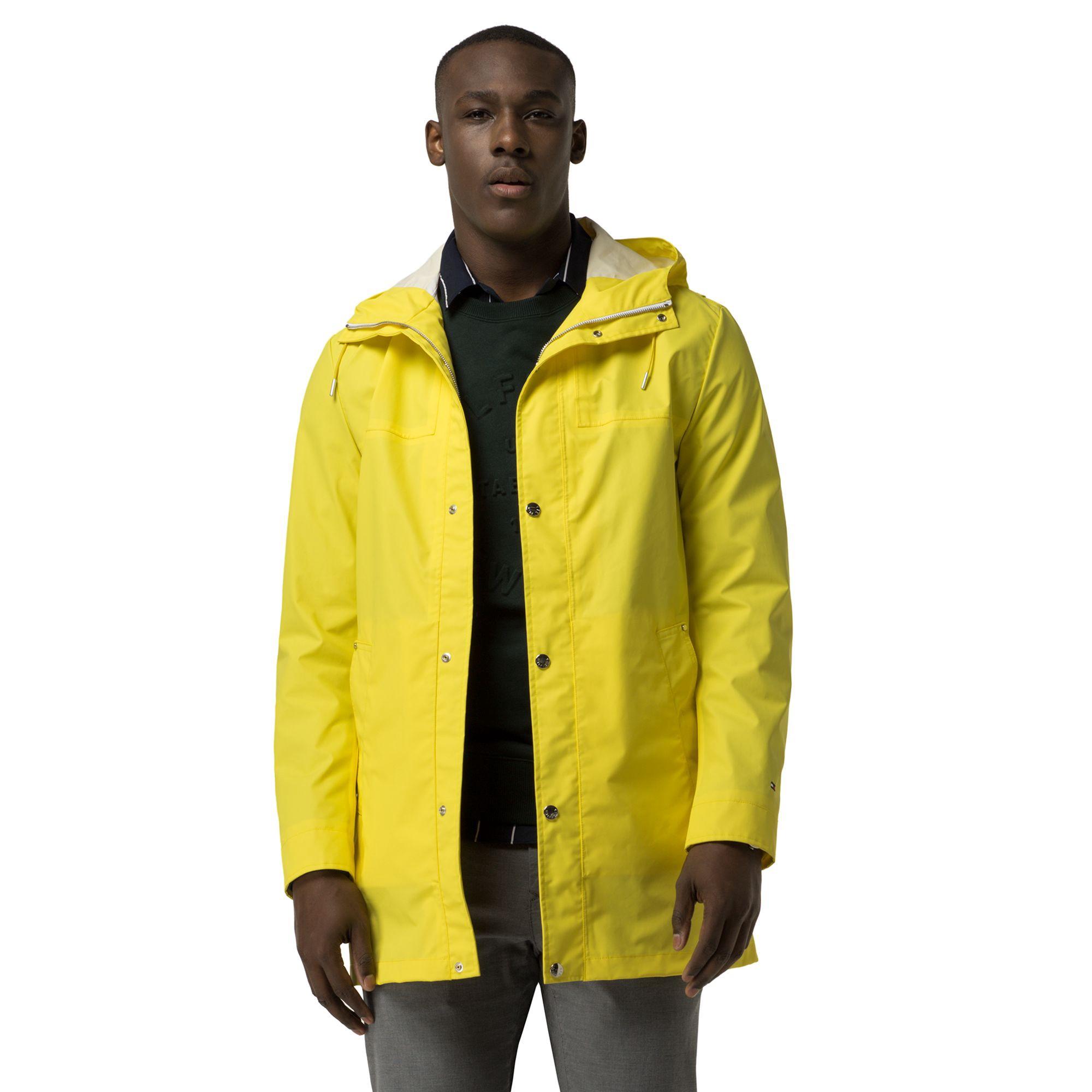 Tommy Hilfiger Captain S Rain Coat Blazing Yellow Tommyhilfiger Cloth Mens Raincoat Tommy Hilfiger Coat [ 2000 x 2000 Pixel ]