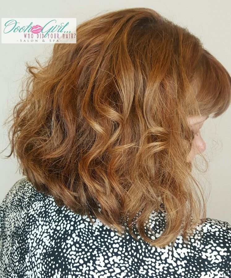 Short and natural wave/curl. Created by Ebonie Oooh Girl